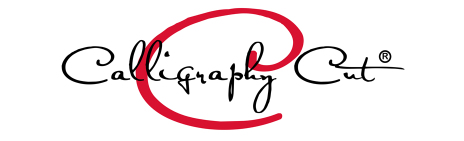 Calligraphy Cut Logo